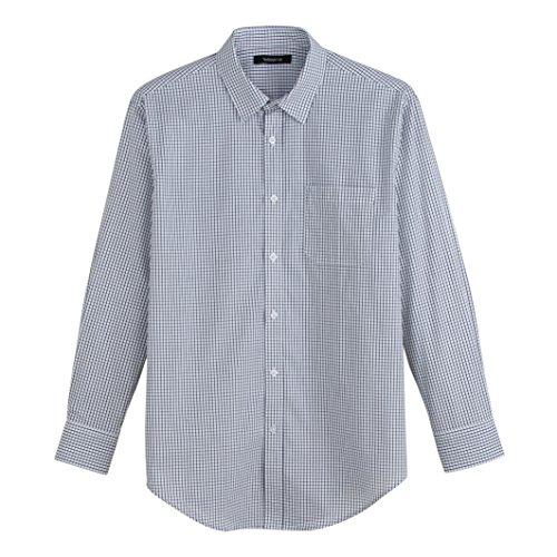 Taillissime Uomo Camicia A Maniche Lunghe In Popeline Misura 1 Taglia 5152 Blu