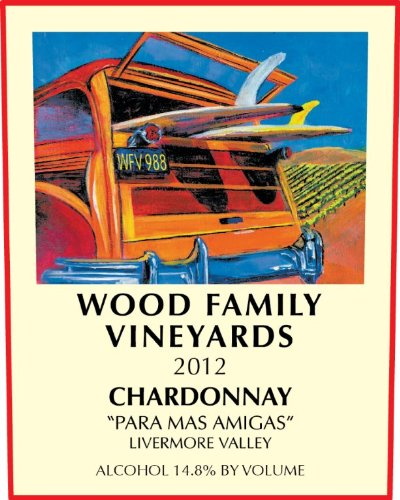 "2013 Wood Family ""Para Mas Amigas"" Livermore Valley Chardonnay 750 Ml"