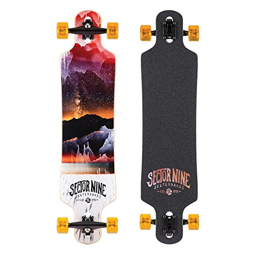 sector-9-meridian-complete-skateboard-red