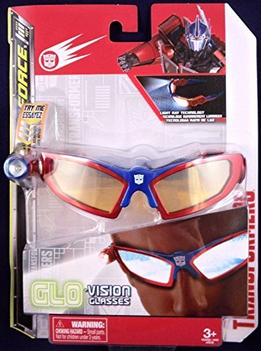 Transformers Glo Vision Glasses Red and Blue - 1