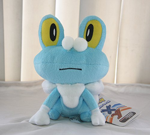 [New Pokemon Center 6inch Froakie Stuffed Animal Doll Christmas Gift] (Froakie Costume)