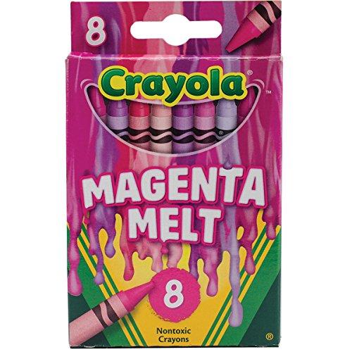 Crayola Meltdown Crayons (8 Pack), Magenta