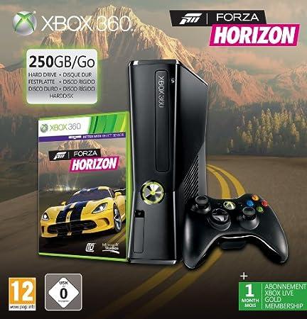 Console Xbox 360 250 Go + Forza Horizon