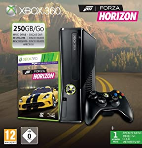 console xbox 360 250 go forza horizon vid o. Black Bedroom Furniture Sets. Home Design Ideas