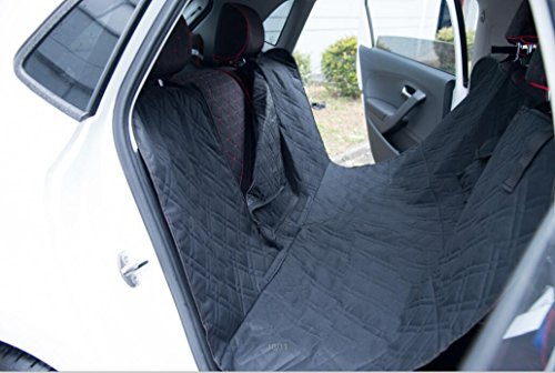 pettom pet dog car seat cover non slip backing machine washing with removable zipper 57 l x 55. Black Bedroom Furniture Sets. Home Design Ideas