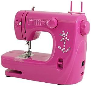 Mini macchina da cucire rosa casa e cucina for Mini macchina per cucire