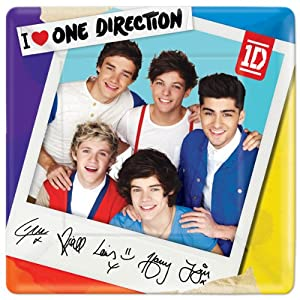 One Direction Lunch Plates 8 Count from Amscan