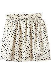 AM Clothes Womens Girls Sweet Floral High Waist Mini Skirt