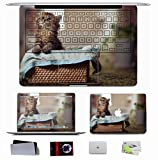 10 PCS Sticker Decal For Apple Macbook Pro/Air 11 13 15 Inch - Animals Basket Kitten Pussy