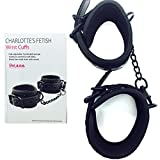Bondage Wrist Cuffs - Comfortable Soft Sex Restraints for Couples Bedroom Play - 30 Day, No-Risk Money-Back Guarantee!!!