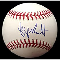 Autographed George Brett MLB Baseball ( MLB Authenticated)