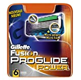 Gillette Fusion ProGlide Power Razor Blades 6-Pack