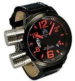 [トーチマイスター1937]Tauchmeister1937 腕時計 ドイツ製2戦ドイツ海軍U-BOOT潜艦軍用復刻GMT T0200 (並行輸入品)