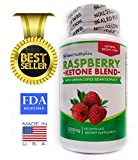 Raspberry Ketone Blend, Best Natural Weight Loss Supplement, Appetite Control Suppressant Diet Pills for Men and Women Great Weight Loss Formula 60 1200 Mg Double Strength Fat Burner Capsules, Green Tea & Caffeine, Very Easy to Take - Best Seller, Enhances Energy, Boosts Metabolism, Creates Fat Breakdown, Burns Fat