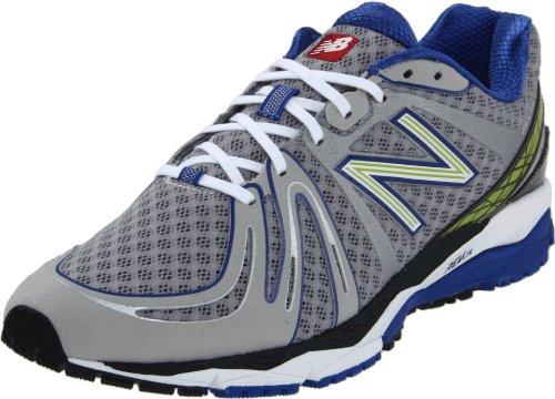 New Balance New Balance Men's M890v2 Neutral Running Shoe, Silver/Blue, 10.5 D US