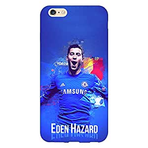 Jugaaduu Chelsea Eden Hazard Back Cover Case For Apple iPhone 6 Plus