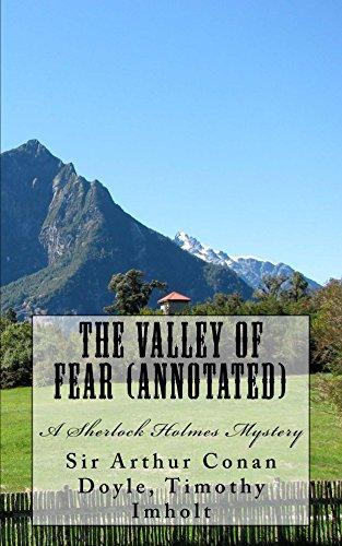 Arthur Conan Doyle - The Valley of Fear (Annotated), A Sherlock Holmes Mystery