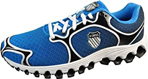 K-Swiss Men's Tube 100 Dustem Running Shoe,Blue,11 M US