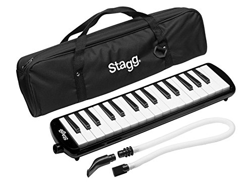 Stagg Black Melosta 32 Key Molodica. Blow like a harmonica but easier to learn if you're used to keyboards.