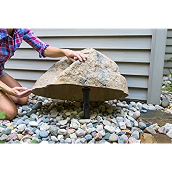 Outdoor Essentials Faux Rock,Tan,Small