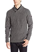 Ben Sherman Jersey The Textured Shawl Collar (Antracita)