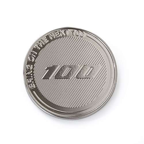 Boeing Centennial Commemorative Coin - Nickel Plate