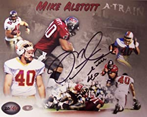 Mike Alstott Autographed Hand Signed Tampa Bay Buccaneers 8x10 Photograph - Limited Edition of 40