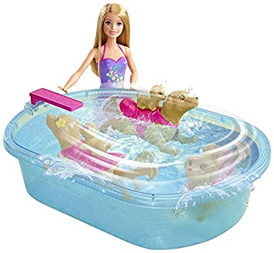 Barbie Pup Pool and Diving Board Set by Mattel