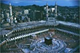 Poster 100 x 70 cm: MECCA, SAUDI ARABIA by Thomas J. Abercrombie / National Geographic - high quality art print, new art poster