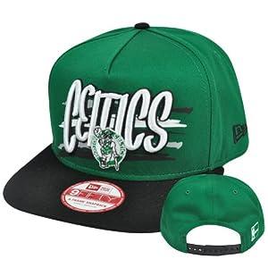 New Era 9Fifty 950 NBA Boston Celtics NE Pinna Snapback Hat Cap A Frame S M by New Era