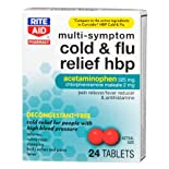 Rite Aid Multi-Symptom Cold & Flu Relief, Decongestant-Free 24 ct.
