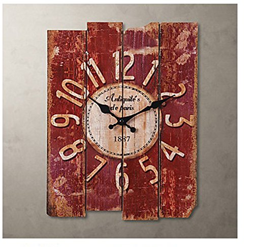 """15"""" Country Style Vintage Wall Clock"""