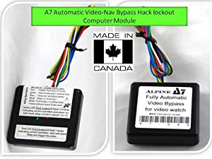 Alpine Electronic Automatic Video Bypass Lockout Hack Triger Module from DotTech