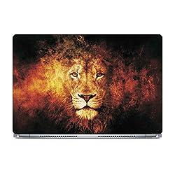Posterboy The Lion Laptop Skin (Multicolor)