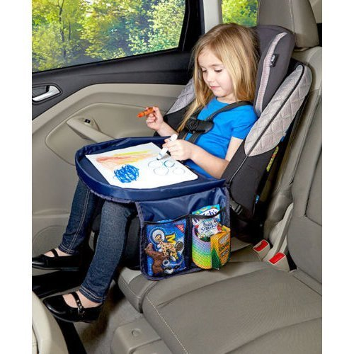 On the Go Car Seat Snack & Play Area, Kids Car Tray Travel Desk, Toddlers  Kids Car Travel Tray Table - On The Go Car Seat Snack & Play Area, Kids Car Tray Travel Desk