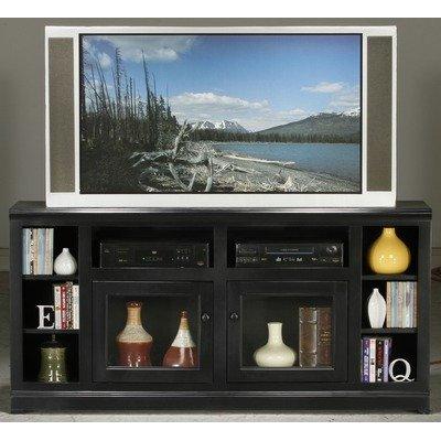Cheap Coastal 66″ Tall Thin TV Stand (72565PLBK)
