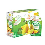 Happy Tot Organics Super Foods, Pears, Mangos and Spinach + Super Chia, 4.22-oz. Pouches (Pack of 16)