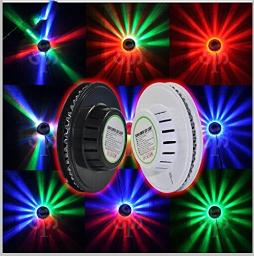 Rextin 48 Leds Rgb Colorful Stage Light Used For Disco Bar Dj Party Wall Rotating Ceiling Lighting