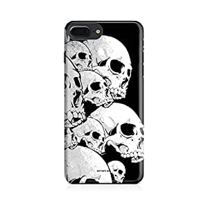 Motivatebox-Apple Iphone 7 plus cover-Plenty of Skulls Polycarbonate 3D Hard case protective back cover. Premium Quality designer Printed 3D Matte finish hard case back cover.