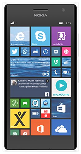 Nokia Lumia 735 Smartphone, 8 GB, Bianco [Italia]