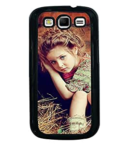 Fuson Premium 2D Back Case Cover Cute Baby on grass With Multi Background Degined For Samsung Galaxy S3 Neo::Samsung Galaxy S3 Neo i9300i