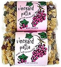 Vineyard Pasta Grape Leaf Shapes 2 Pack