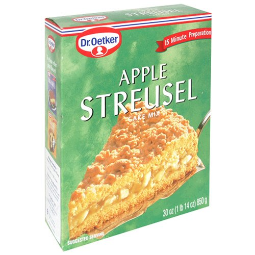 Buy Dr. Oetker Streusel, Apple, 30 Ounces (Pack of 4) (Dr. Oetker, Health & Personal Care, Products, Food & Snacks, Baking Supplies, Baking Mixes, Cake Mixes)