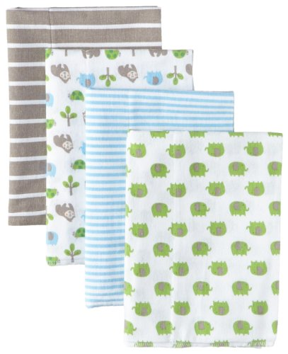 Gerber-Baby-Boys-4-Pack-Flannel-Burp-Cloths