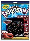 Crayola Color Explosion Black Deluxe Set Disney Cars