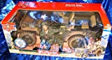 G.i. Joe Willys Jeep w/ .30 Caliber Machine Gun for 12