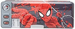 Marvel Spiderman Pencil Box, Multi Color