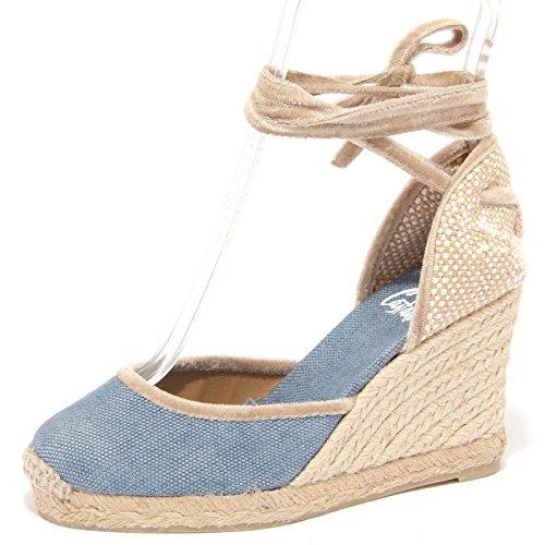 1545Q sandalo CASTANER CARINA blu scarpa donna sandal woman [35]