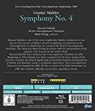 Image de Mahler: Symphony No. 4 at Concertgebouw Amsterdam, 1982 [Blu-ray]