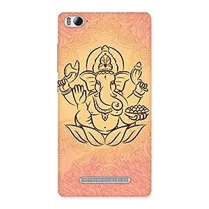 Premium Jai Ganesha Print Back Case Cover for Xiaomi Mi4i